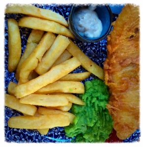 Fish & chips...yummy!