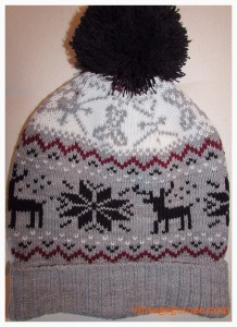 reindeer woolly hat