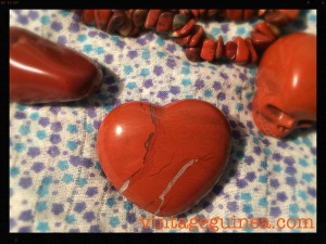 red jasper heart crystal